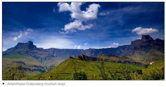Amphitheater Drakensberg mountain range