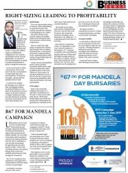 Anesh Singh - UKZN Foundation R67 For Mandela Campaign