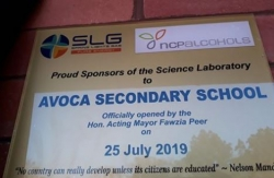 Spring Lights Gas gift Avoca Secondary School a new science lab