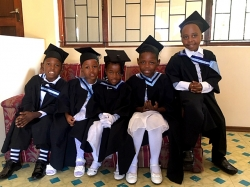 Tongaat Hulett Developments - Blackburn Village celebrates as first five children graduate from Community-iThuba Centre