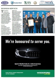 KZN Top Business Awards 2017 : Business Services : THE WINNER IS Woodford Group