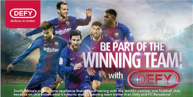 Be Part Of The Winning Team With Defy