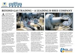 SLG:Beyond Gas Trading - A Leading B-BBEE Company