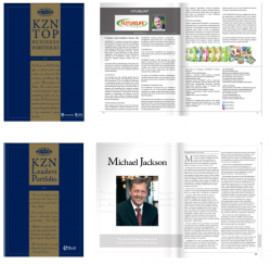 Top Business Portfolio and get a complementary copy of the limited edition of the KZN Leaders Portfolio
