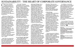 Cathie Lewis - Grindrod : Sustainability - The Heart of Corporate Governance