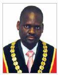 Harry Gwala District Municipality:Mayor: Cllr. Mluleki Ezekiel Ndobe
