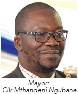 uMzinyathi District Municipality Mayor : Cllr Mthandeni Ngubane