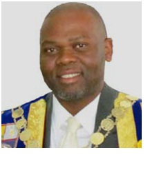 His Worship the Mayor: Cllr. Thabani Dube