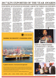 Dumile Cele - Ensuring Sustained Economic Growth through Exports