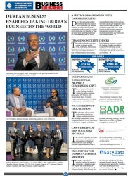 Durban Chamber - Durban Business Enables Taking Durban Business To The World