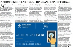 Promoting International Trade and Export For KZN -  Durban Chamber