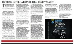 Durban International Film Festival 2017