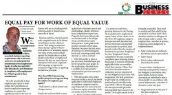 BusinessFIT - Charles Henzi:EQUAL PAY FOR EQUAL WORK