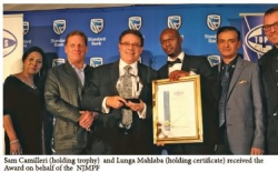 KZN Top Business Awards 2017 : Financial Services : Winner - Natal Joint Municipal Pension Fund