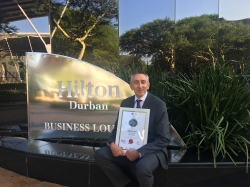 Hilton Durban General Manager - Markus Fritz wins Best General Managers Award (Hospitality)