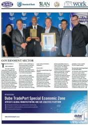 KZN Top Business Awards 2017 : Government Sector : THE WINNER IS Dube TradePort
