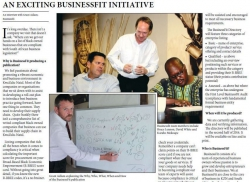 An Exciting BusinessFit Initiative An interview with Grant Adlam