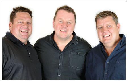 Greg, Hilton and Doug Mundell
