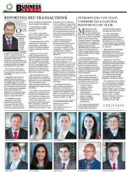 Introducing Cox Yeats Commercial & Natural Resources Law Team