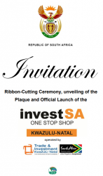 President to launch InvestSA One Stop Shop KwaZulu-Natal