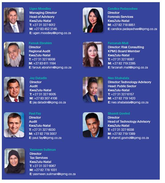 KPMG Key Personnel