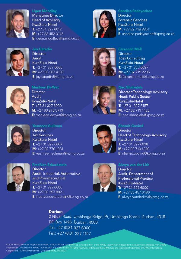 KPMG Key Personnel