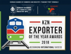 Durban Chamber announces 2018 nominees KZN EXPORTER OF THE YEAR AWARDS
