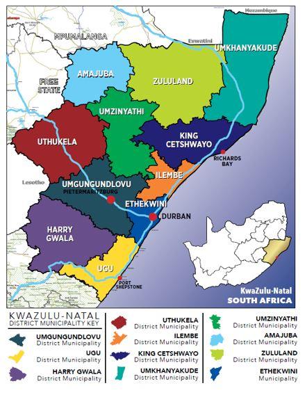KZN Map
