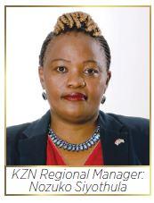 Royal HaskoningDHV KZN Regional Manager: Nozuko Siyothula