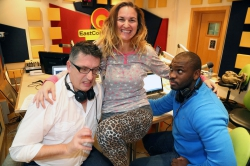 East Coast Radio - More sass and more crazy as Keri Miller joins East Coast Breakfast:Keri Miller rocked up to the studio in her PJ's this morning as she joins Darren Maule and Sky Tshabalala on East Coast Breakfast while Natarah is on maternity leave