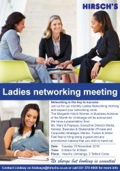 Hirschs Umhlanga - Ladies Networking Meeting