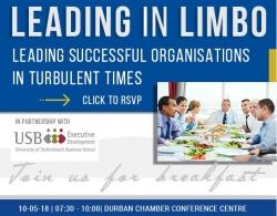 Durban Chamber - HR Forum: Breakfast Meeting - 10 May