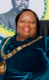 Cllr Nonhle Mkhulisi Honorable Mayor King Cetshwayo District Municipality