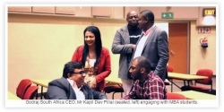 UKZN Graduate School of Business & Leadership-MBA Students Benefit from a Guest Lecture on Strategic Management