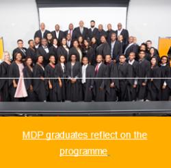 UKZN - MDP graduates reflect on the programme