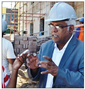 MEC Ravi Pillay is leading the pack with the first Contractor Development Programme in the cou