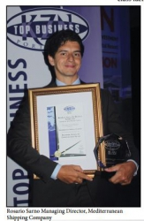 Mediterranean Shipping Company-KZN Top Business Awards:Winner:Transport, Storage & Communication:Rosario Sarno Managing Director, Mediterranean Shipping Company