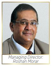 Morar Incorporated Managing Director Roshan Morar