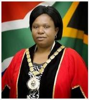 Her Worship the Mayor Cllr JP Phakathi
