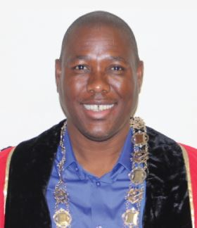 Mayor: Cllr Bheki Mtolo