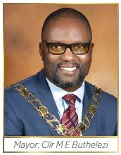 Zululand District Municipality:Mayor: Cllr M E Buthelezi