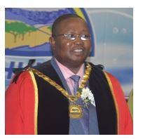 Mayor Mr A S Mazibuko:uThukela District Municipality