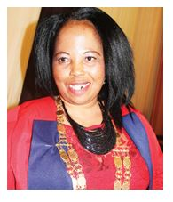 Mayor Ms Jabulile Mbhele Inkosi Langalibalele Local Municipality