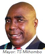 Umkhanyakude District Municipality Mayor : Cllr T S Mkhombo