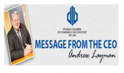 Durban Chamber - Message from the CEO