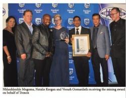 KZN Top Business Awards 2017 : Mining : Winner - Tronox