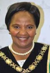 Umgungundlovu District Municipality Mayor Cllr Thobekile Maphumulo