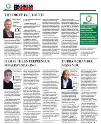 Musa Makhunga - Durban Chamber Signs MOU