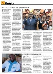 Mzisi Magosa - A Proud Ambassador