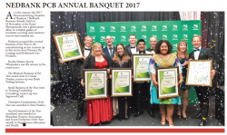 Nedbank PCB Annual Banquet 2017